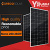 Moregosolar MG series high efficiency monocrystalline solar panel 280w 285w for reasonable price