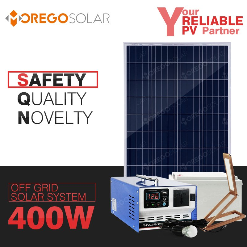 Morego 400w solar power system inverter controller all in one with cheap price