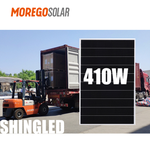 Moregosolar Photovoltaic Panels Shingle Solar Panel 166mm 410W