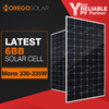 Moregosolar latest 6BB solar cell mono solar panel 300w 340w for hot sales