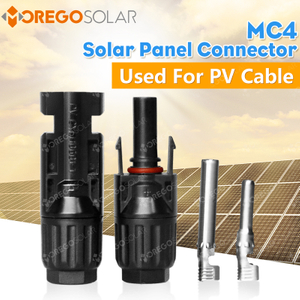 High quality 2.5mm2 / 4mm2 / 6mm2 Solar MC4 cable connector with TUV certification