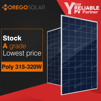 Moregosolar MS series a grade 300w 315w 320w pv solar panel cost in China
