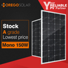 Moregosolar MS series cheap 150w 150 watt solar panel product wholesale cost China