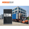 Moregosolar Mono PERC Half Cell Solar Panel 166mm 375W